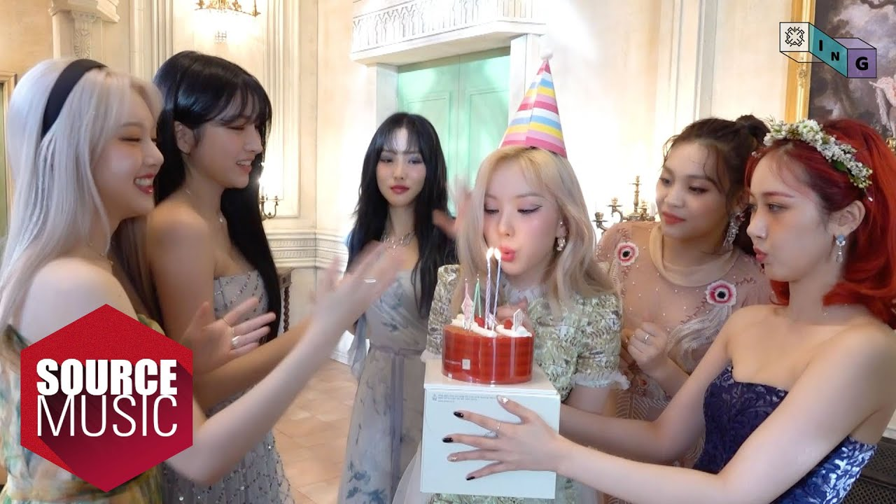 [G-ING] Surprise birthday party for EUNHA - GFRIEND (여자친구)