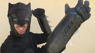 Homeless Batman Part 3: PVC Gauntlets and Metal Spikes