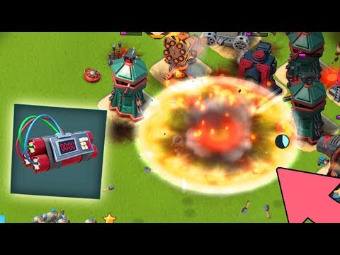Boom Beach Explosive Charges is ACTUALLY GOOD With Grenadiers!!