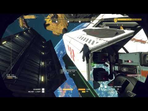 Game Vlog #2 - Blowing ship up in Hardspace: Shipbreaker |