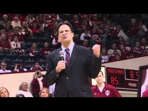 Tom Crean Senior Night Speech