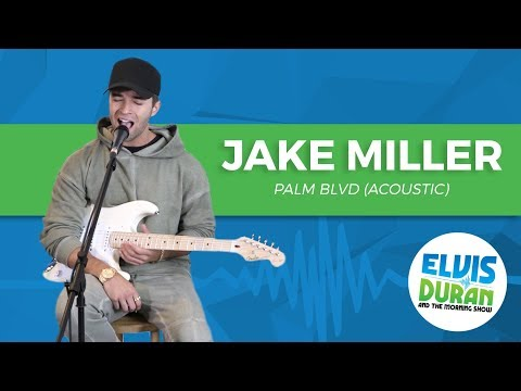 Jake Miller - Palm Blvd (Acoustic) | Elvis Duran Live