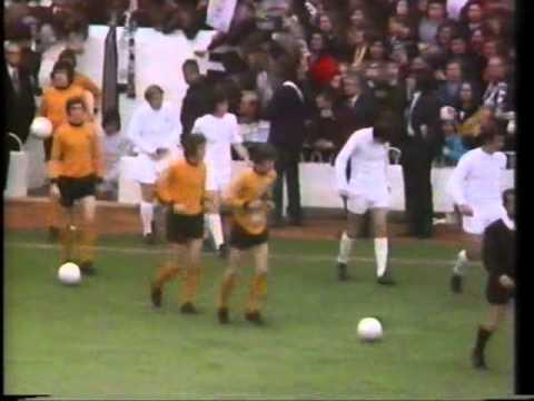 Spurs v Wolves Uefa Cup final