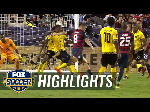 USA vs. Jamaica  2017 CONCACAF Gold Cup Highlights