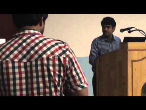 IIT Madras Soapbox video for the post of  Cultural Affairs S