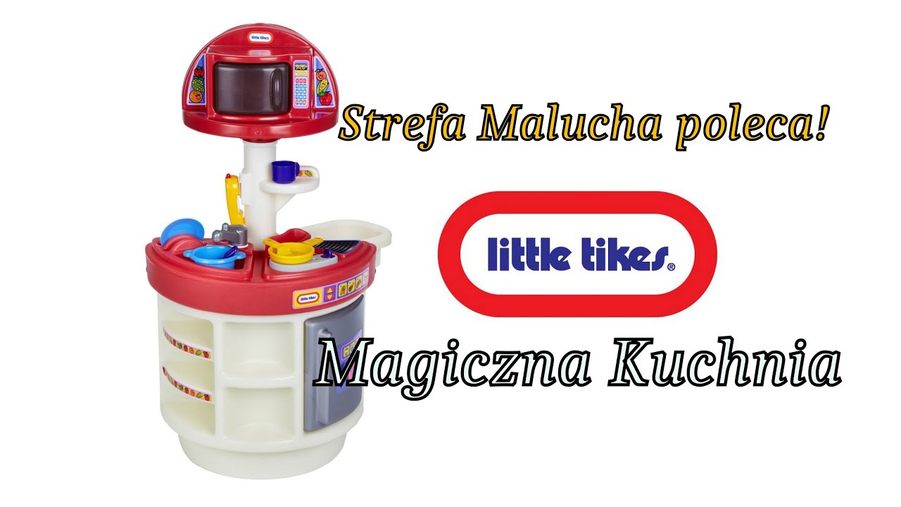 Magiczna kuchnia Little Tikes - prezentacja - YouTube