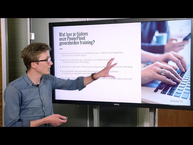PowerPoint workshop voor gevorderden | PowerPoint Workshop 3.0 | PPT Solutions