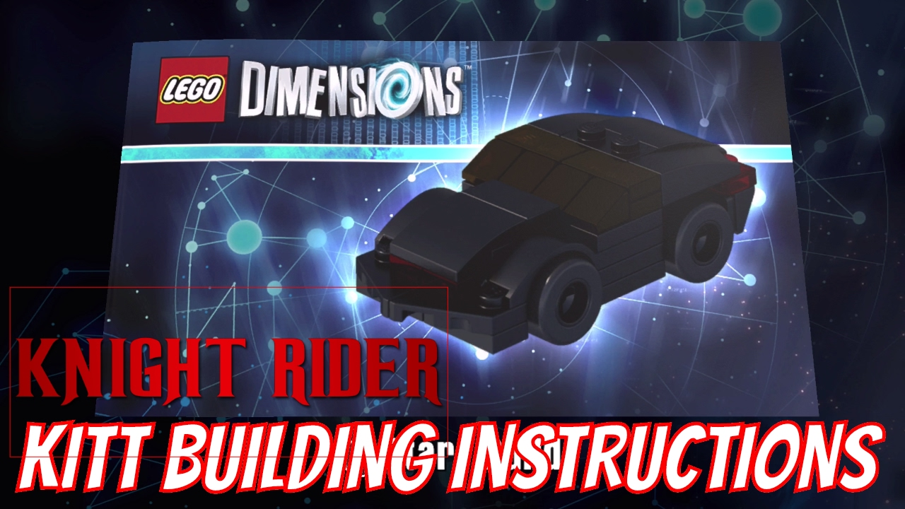 lego dimensions kitt building instructions knight rider. Black Bedroom Furniture Sets. Home Design Ideas