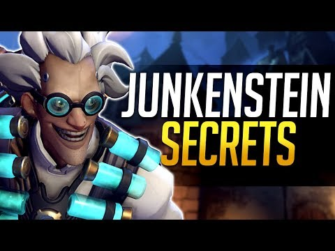 Overwatch - Junkentein's Revenge SECRETS! Hidden Tricks and more!