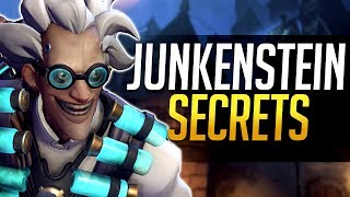 Overwatch - Junkenstein's Revenge SECRETS! Hidden Tricks and more!