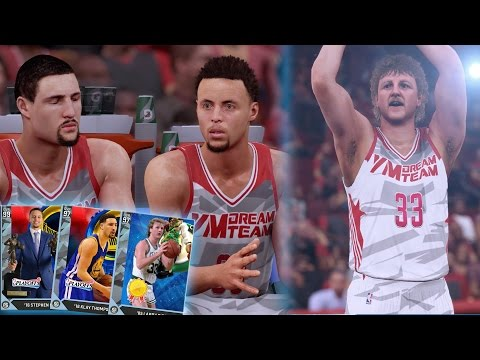 DIAMOND LARRY LEGEND IS BACK! MOST DEADLIEST DIAMOND SPLASH FAMILY REUNION!! NBA 2K16 MyTEAM