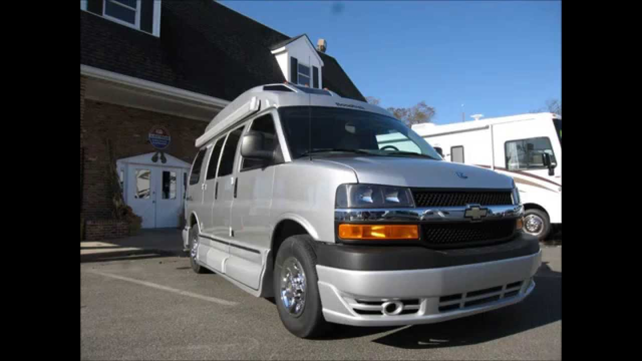 Camper Van For Sale >> 2013 Roadtrek 170-Versatile Chevrolet Express Van RV ...