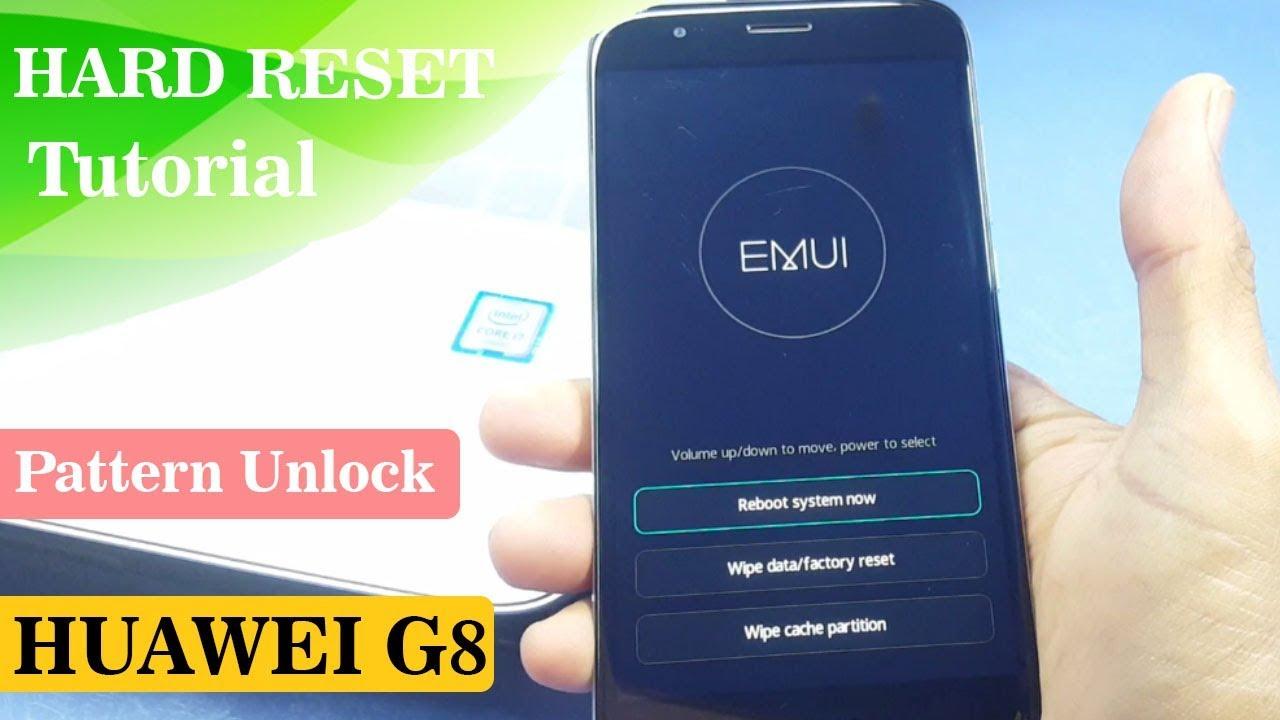 Huawei Rio L01 Hard Reset | Huawei G8 Pattern Lock Remove