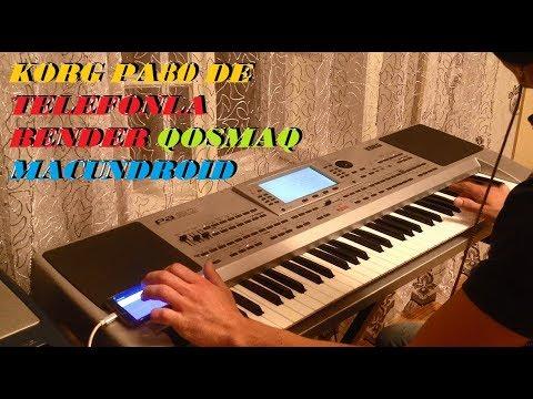 Korg Pa50, Pa80 - Telefonla Bender Programi Qosmaq MacunDroid (Android Pitchbend)