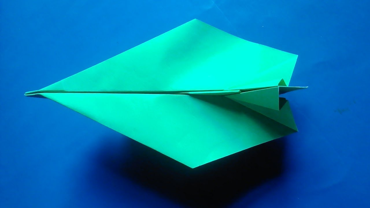 how to make easy but cool paper airplanes
