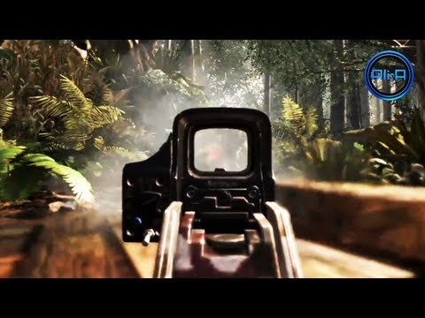Call of Duty: GHOSTS Gameplay Trailer - SLIDING, LEANING, GUNS & MORE! - (COD GHOST 2013 HD)