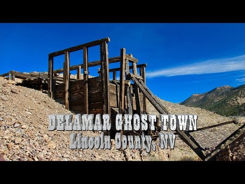Delamar Ghost Town - 4wd Road Nevada