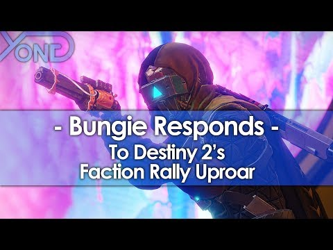 Bungie Responds to Destiny 2's Faction Rally Uproar