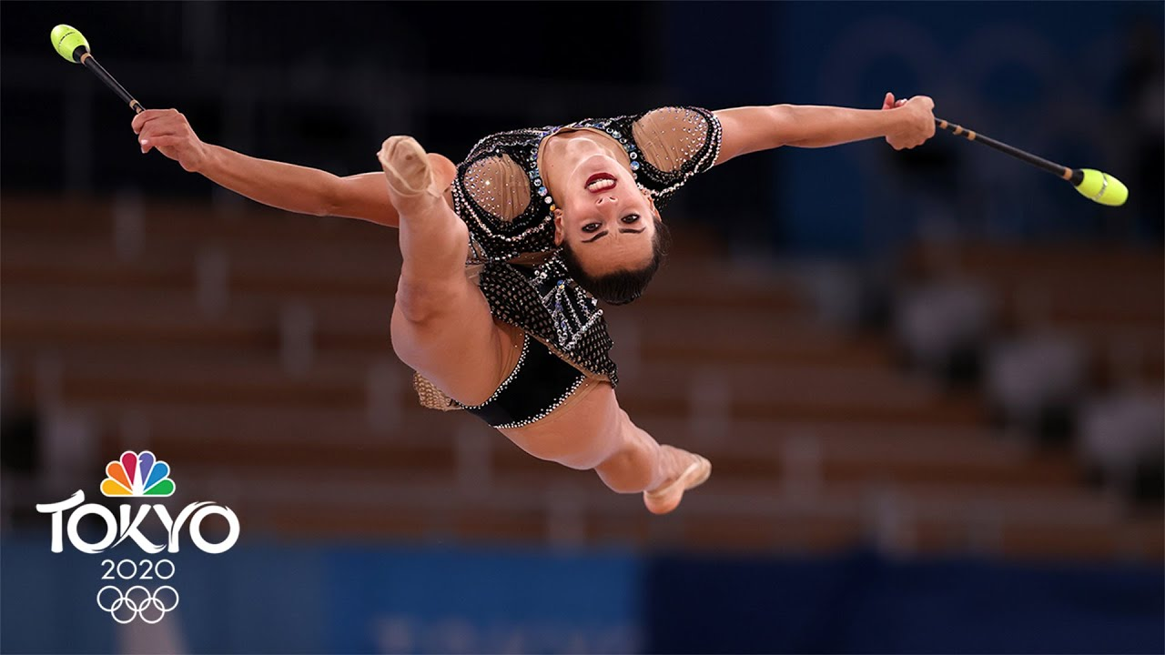 Israel's Linoy Ashram upsets Dina Averina for gold in rhythmic ...