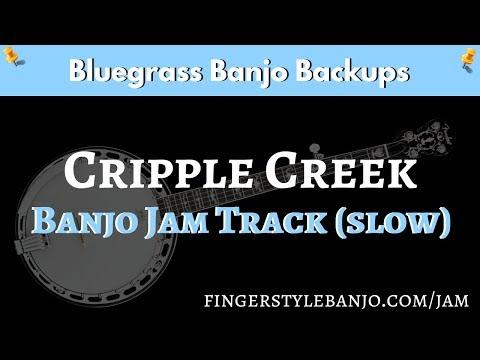 Bluegrass Banjo Jam Track (slow):