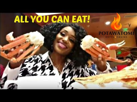 CRAB LEGS, ALL YOU CAN EAT! from Potawatomi