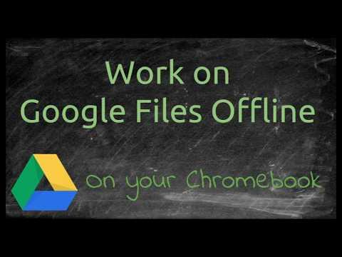 Work on Google Files Offline
