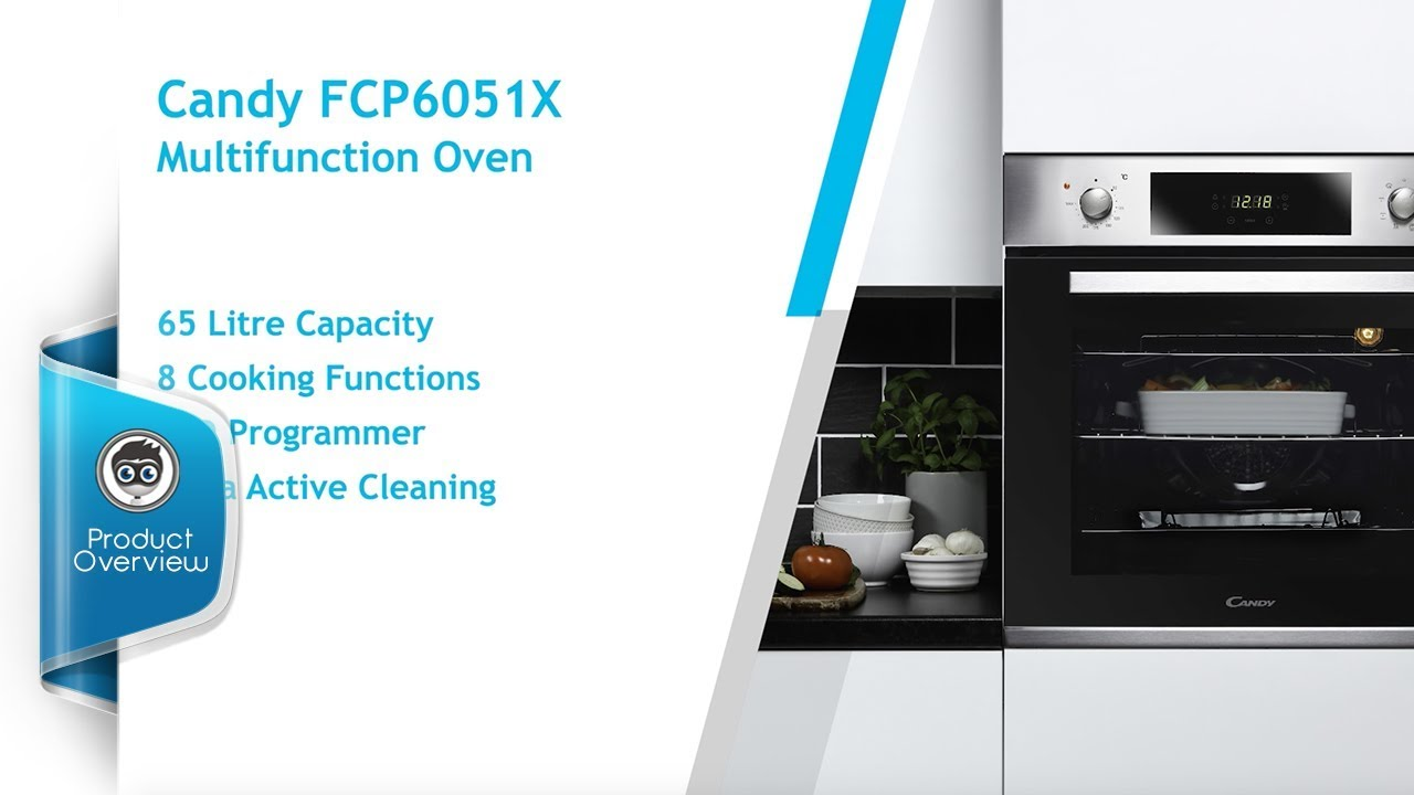 Candy FCP6051X Oven - YouTube