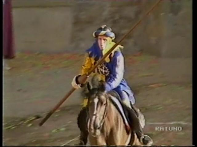 83a Giostra del Saracino 6 settembre 1992   RAIUNO