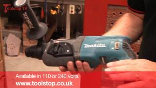 product Review  Demo - Makita HR2470 Rotary Hammer Drill