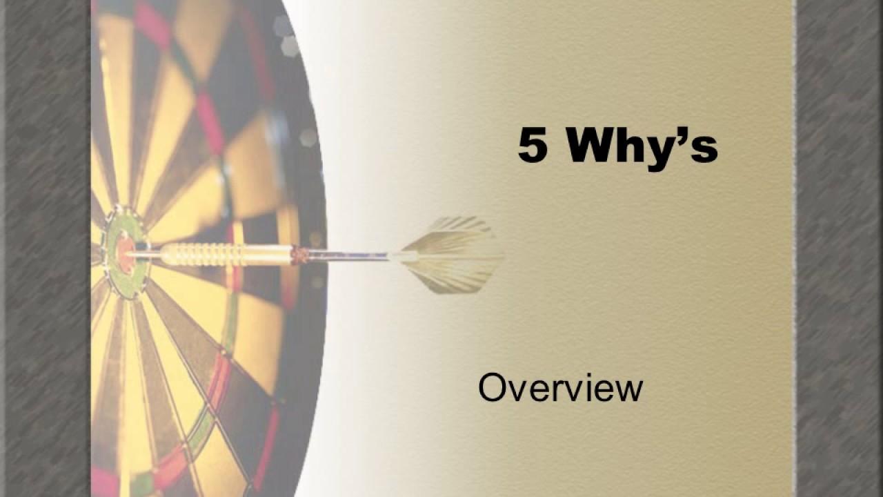 5 whys YouTube – 5 Whys Worksheet