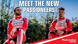 Meet Mahindra Racing's Season 5 drivers