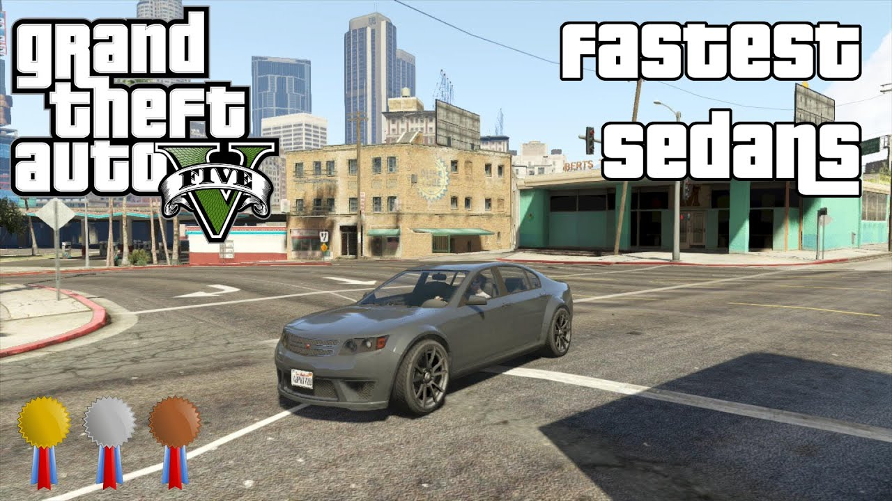 The Fastest Sedans In Gta V Youtube