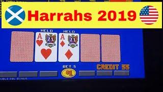 Live play video poker Harrahs las vegas