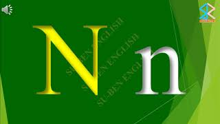 Tiếng Anh Mầm Non - The English Alphabet - Bảng chữ cái tiếng Anh