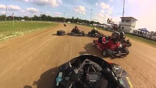 Volusia Speedway Park GoKart Box Stock EL Feature 5-10-14