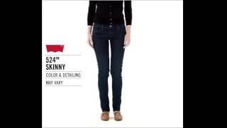 Обзор женских узких джинсов скинни Levis Women 524 Skinny Jeans