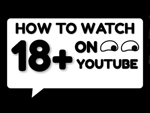 How to watch age restricted videos on YouTube | HINDI |