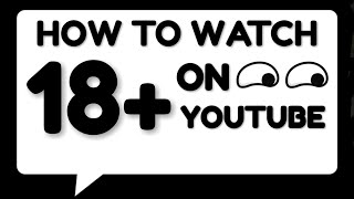 How to watch aġe restricted videos on YouTube | HINDI |