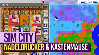SIM CITY [PC] [1989] [009] - Nadeldrucker & Kastenmäuse