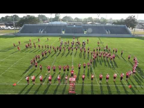 Port Huron High School BRMM Welcome Home Performance 2019 - DC