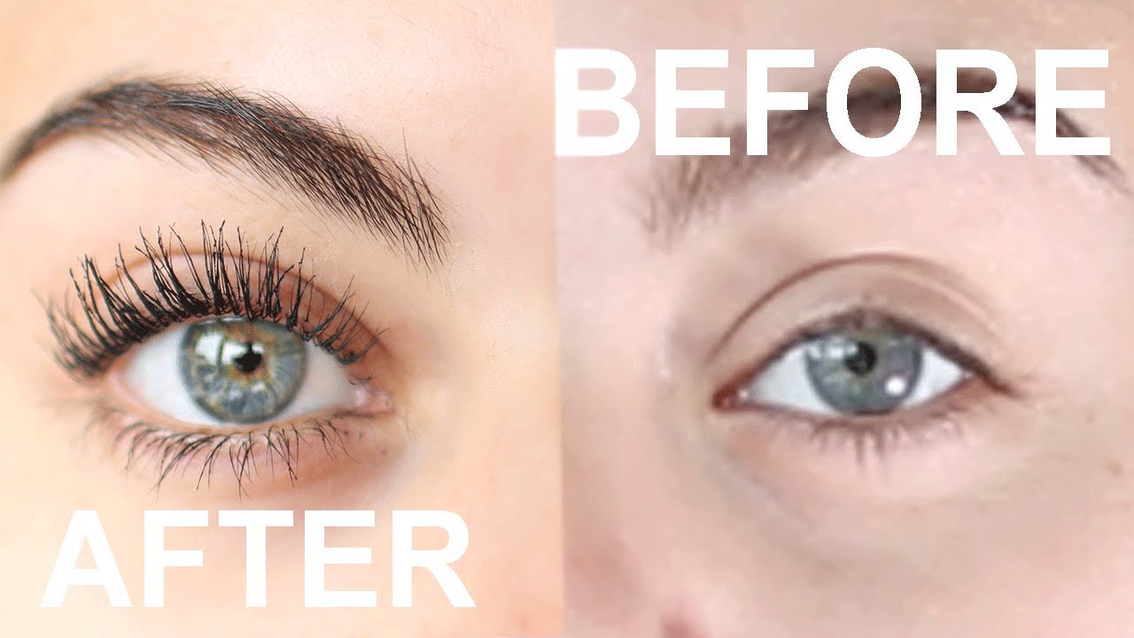 How To Get Amazing Long Eyelashes With Just Mascara And Eyelash