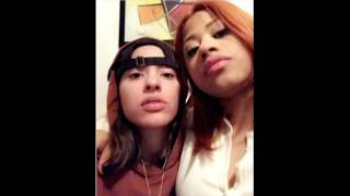 #HennessyCarolina spent #ValentinesDay 2017 with her hot girlfriend? #LGBT? #LHHNY 7