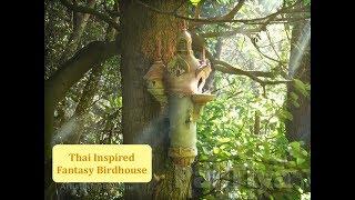 Thai Inspired Fantasy Birdhouse