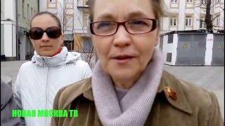 Смотреть видео Митинг на Новокузнецкой 18.04.2016 - НОВАЯ МОСКВА ТВ онлайн