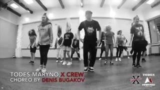 Dance studio ALLA DUKHOVA TODES Maryno, X CREW, Locking class by DENIS BUGAKOV