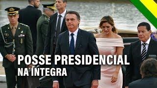 Posse Bolsonaro: acompanhe a íntegra da cerimônia