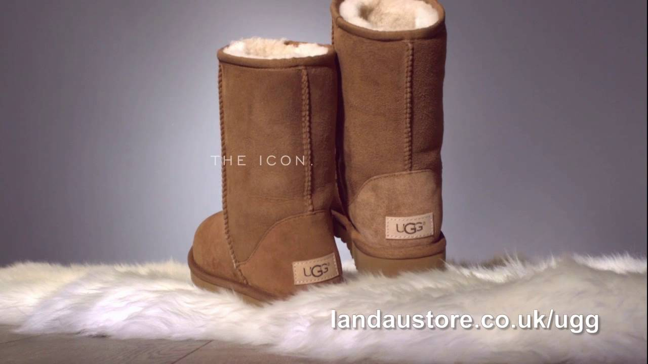 e52f4af75f8 ❤❤ Ugg Women's Classic Boots - In the Rain! Beautiful video. ❤❤