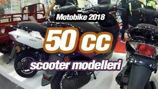 Motobike 2018 / 50cc Scooter Modelleri