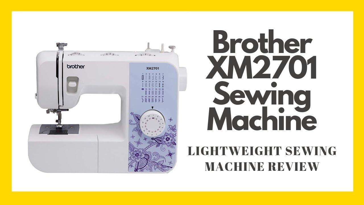 Brother XM2701 Sewing Machine, Lightweight Sewing Machine ...