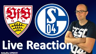 🔴 VfB Stuttgart - Schalke 04 Live Reaction